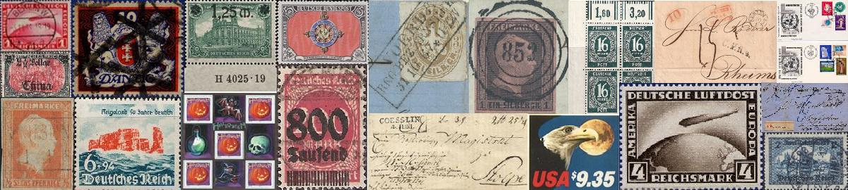 Briefmarken-Sammlershop