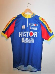 RadTrikot Histor Novemail  3XL (XXXL) Biemme France Jersey Cycling Made in Italy
