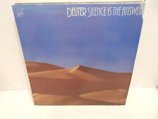 DEUTER Silence is the Answer 2 LP Germany 1P 1981 Kuckuck 050 NM Vinyl Double LP