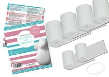 bambelina Gipsabdruck Bauchabdruck Babybauch, mit Aufhängung, Deutsches Produkt