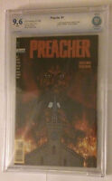Preacher #1 First Printing, Original 1995 Comic Book. CBCS 9.6 White Pages NM+