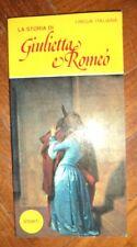 CARLO GHERLENDA - LA STORIA DI GIULIETTA ROMEO - ED:AMEDEO - ANNO:1980 (MI)