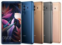 "Huawei Mate 10 Pro BLA-L29 128GB (FACTORY UNLOCKED) 6.0"" Blue Gray Mocha Pink"
