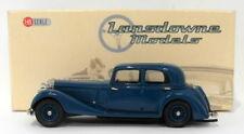 Lansdowne Models 1/43 Scale LDM61 - 1937 Jensen 3.5 Litre S-Type - Blue