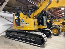 Unused 2018 325f Excavator With Rototilt And Poly Tracks Warranty Stored Indoor