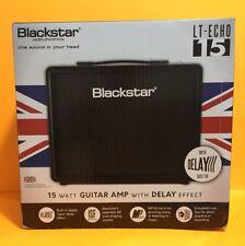 BLACKSTAR LT-Echo 15 Guitar Amp with Delay Effect & MP3 line-in (15 Watt) NIB
