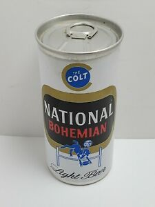 National Bohemian 'The Colt' 7 oz pull tab National Brewing Baltimore MD BCU 28