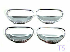 CHROME HANDLE BOWL INSERT COVER FOR MITSUBISHI MIRAGE 5DR SPACE STAR 2012-15