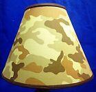 Desert Camouflage Army Military Patriotic Americana Lamp Shade