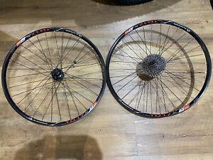 "Alexrims TD17 26"" Mountain Bike Wheelset, Sram MTH 506 Hubs"