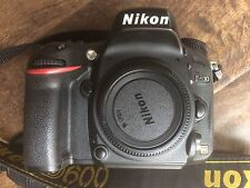 Nikon D600 24.3 MP Digital SLR Camera - Black (Body Only)