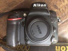 Nikon D600 24.3 MP Digital SLR Camera - Black (Body Only)