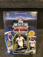 2016-17 TOPPS UEFA CHAMPIONS LEAGUE  SOCCER MATCH ATTAX TWO-PLAYER STARTER BOX