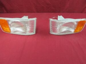 NOS OEM GM 1992 - 1997 Cadillac Side Marker Corning Lamp Left Right PAIR