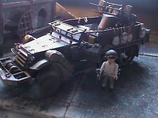 PLAYMOBIL CUSTOM  US. HALF TRACK + SUBOFICIAL (FRANCE-1944)  REF-003  BIS