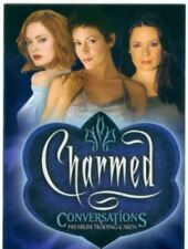 "2005 INKWORKS ""CHARMED CONVERSATIONS"" PROMO TRADING CARD [P-UK] V/GOOD CONDITION"