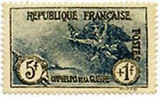 """FRANCE STAMP TIMBRE N° 232 """" ORPHELINS LA MARSEILLAISE 5 F+ 1 F """" NEUF xx LUXE"""