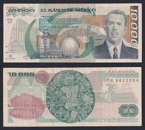 Messico 10000 pesos 1987 BB/VF  A-05