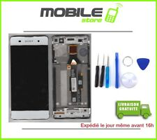 Ecran LCD + Vitre Tactile + Chassis  pour SONY Xperia XA Blanc + outils