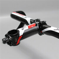 Carbon Fiber Aluminium 31.8 Stem Handlebar Riser MTB Suitable for Mountain Bike
