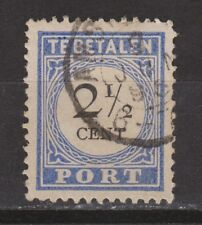 Port nr 16a type III used NVPH Nederland Netherlands due portzegel 1894-1895