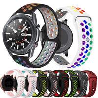 Silikon Uhrenarmband Ersatz Band Für Samsung Galaxy Watch 3 41/45mm Sports Strap