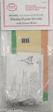 SS Ltd. HO #7221 Dining Room Details w/ Room Walls