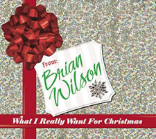 Brian Wilson - What I Really Want for Christmas [New sealed] Digipack CD