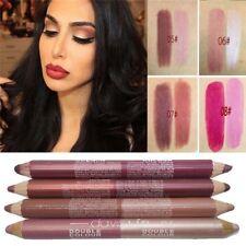 Moisturizer Matte Waterproof Lip Stain Double Color Lip Liner Lipstick Pencil