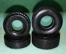 "Eldon 1:32 Scale ""Muscle Car Tire Set"", 2 Narrow and 2 Wide Tires"