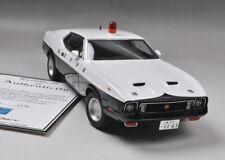 Autoart 1/18 Ford Mustang Mach 1 Japan Tochigi Police Car Die-Cast Model Rare