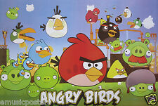 """""""ANGRY BIRDS"""" POSTER FROM ASIA - Video / Computer / Cell Phone Games"""