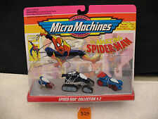 MICRO MACHINES 65826 AMAZING SPIDER-MAN  MARVEL COLLECTION #2 *New* 1993 Galoob