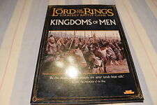Games Workshop Lord of the Rings Kingdoms of Men Source Book Sourcebook New OOP