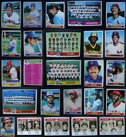 1979 Topps Baseball Cards Complete Your Set U You Pick From List 501-726