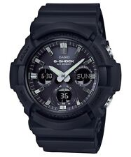 BRAND NEW CASIO G-SHOCK GAS100B-1A BLACK ANA-DIGI SOLAR MENS WATCH NWT!!!