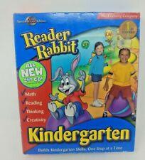 READER RABBIT KINDERGARTEN, Special 2 CD Edition, NEW SEALED BOX