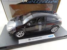 1:18 Welly #12563w 2005 Opel Astra GTC Noir