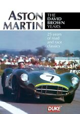 Aston Martin - The David Brown Years (New DVD) Le Mans DB5 DB7 Shelby Brooks etc