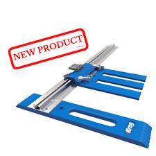 """Rip Cut Circular Saw Guide Kreg Reversible Edge Built In Measuring Scale 24"""" NEW"""