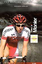 CYCLISME carte cycliste DALIEN MONIER équipe COFIDIS 2010