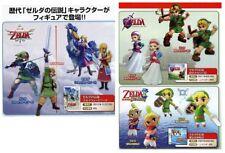 Takara Tomy Legend of Zelda Link and Princess Full Set of 6 Figures Collection