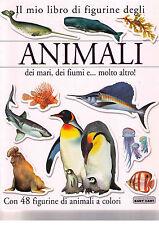 Il mio libro di figurine degli animali dei mari, dei fiumi - Baby Cart Nuovo