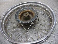 Honda CR60R Front Wheel/Rim and Brake Assembly #295