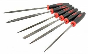 6PC MICRO PRECISION NEEDLE FILE SET JEWELLER WATCHMAKER ENGINEERS METAL SMALL