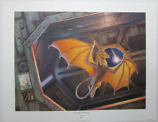 Dragon Aboard by Michael Whelan Hand Signed Print