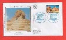 FDC - UNESCO - Egypte - Les pyramides  (219)