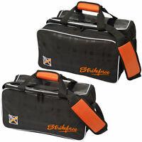 Bowling Ball Tasche KR Krush Double orange, Plus für Bowlingschuhe Kugel Bag