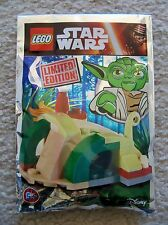 LEGO Star Wars - Super Rare 911614 Yoda's Hut Foil Pack - Limited Edition