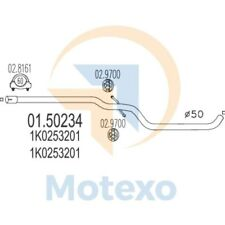 MTS 01.50234 Exhaust AUDI A3 Sportback 1.9 TDi 105bhp 10/05 - 06/08